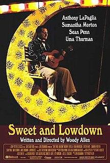 <i>Sweet and Lowdown</i> 1999 film by Woody Allen