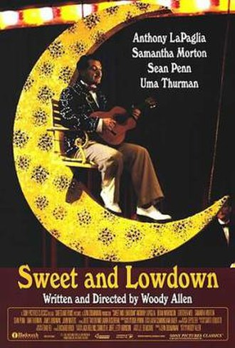 Sweet and Lowdown - Theatrical release poster
