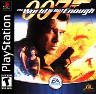 The World Is Not Enough (PlayStation) - Image: TWINE PS Box Art