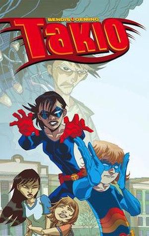 Takio - The cover the original Takio graphic novel