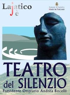 Teatro del Silenzio Italian open air amphitheater