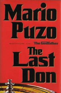 <i>The Last Don</i> Novel by Mario Puzo