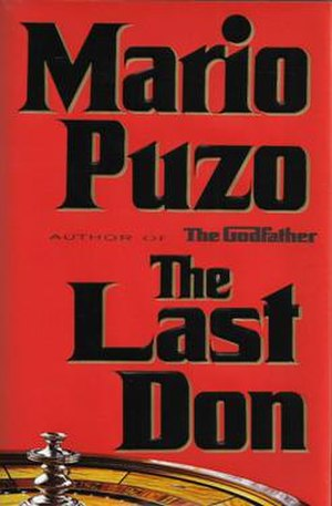 The Last Don - First edition