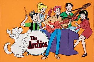 The Archies Fictional music group