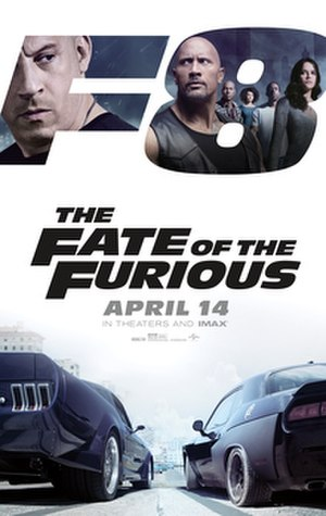 The Fate of the Furious - Theatrical release poster