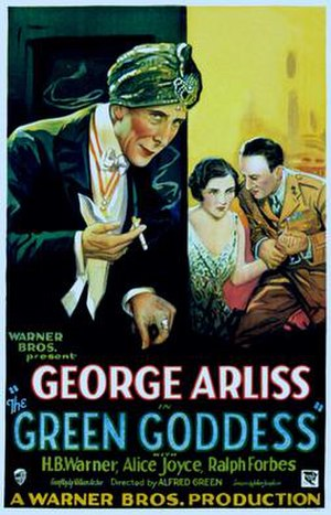 The Green Goddess (1930 film) - Image: The Green Goddess 1930 Poster
