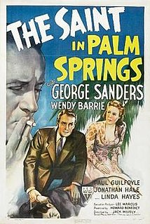 <i>The Saint in Palm Springs</i> 1941 film by Jack Hively