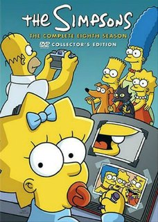 <i>The Simpsons</i> (season 8) Episode list for season of animated series