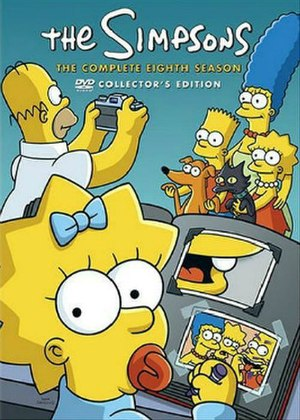 The Simpsons (season 8) - DVD cover