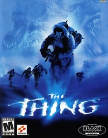 Image result for the thing video game