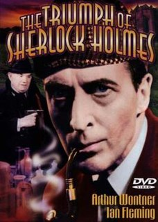 <i>The Triumph of Sherlock Holmes</i> 1935 British mystery film