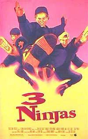 3 Ninjas (film) - Theatrical release poster
