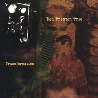Transformation (Don Preston album) - Image: Transformation (Don Preston album)