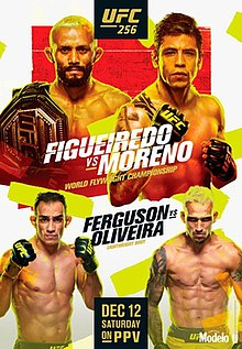 UFC 256: Figueiredo vs. Moreno Fight Poster