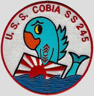 USS Cobia - Image: USS Cobia SS 245 Badge