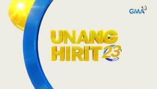 <i>Unang Hirit</i> Philippine television show
