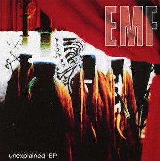 Unexplained (EP) - Image: Unexplainedepcover