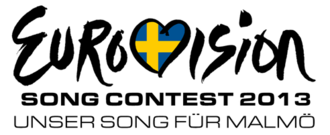 Germany in the Eurovision Song Contest 2013 - Logo of Unser Song für Malmö