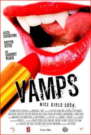 Vamps (film) - Theatrical release poster