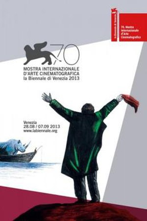 70th Venice International Film Festival - Festival poster