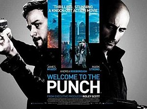 Welcome to the Punch - UK cinema poster