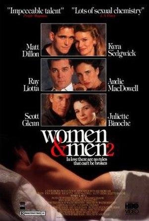 Women & Men 2 - Image: Women & Men 2 Film Poster