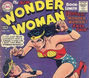 "The cover of 1968's Wonder Woman #175, which explicitly references the ""Evil Twin""."