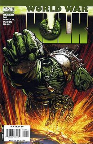World War Hulk - Image: World War Hulk 1