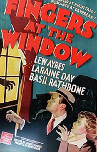 "Fingers at the Window - Image: ""Fingers at the Window"" (1942)"