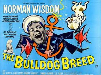 The Bulldog Breed - UK Quad poster