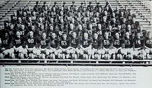 1958 Illinois Fighting Illini football team - Image: 1958 Illinois Fighting Illini football team