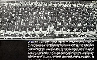 1970 Illinois Fighting Illini football team - Image: 1970 Illinois Fighting Illini football team