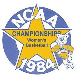 1984 NCAA Division I Women's Basketball Tournament - Image: 1984Womens Final Four Logo