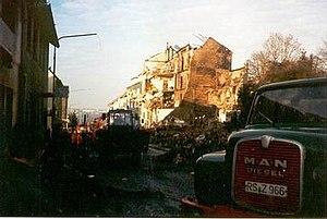 1988 Remscheid A-10 crash - Image: 1988 Remscheid A 10 crash site