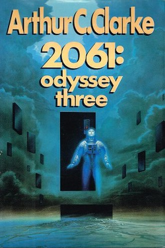 2061: Odyssey Three - Cover of the first edition