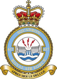 No. 617 Squadron RAF Flying squadron of the Royal Air Force