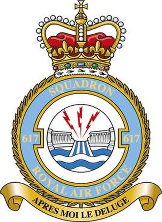 No. 617 Squadron RAF - Squadron badge