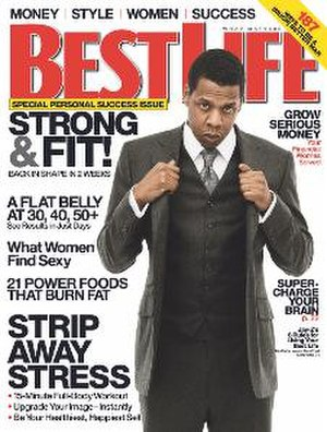 Best Life - Jay-Z on the cover of Best Life (U.S.)
