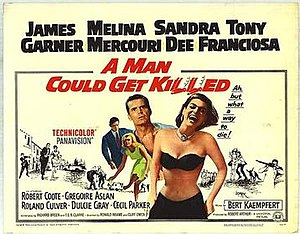 A Man Could Get Killed - Theatrical release poster