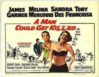 <i>A Man Could Get Killed</i> 1966 film by Ronald Neame