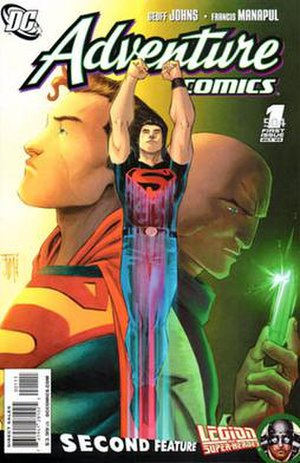 Adventure Comics - Image: Adventure comics v 2 01