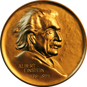 Albert Einstein World Award of Science - Image: Albert Einstein World Award of Science Medal