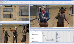 Antics3D - Image: Antics Western Set