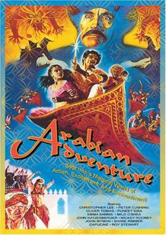 Arabian Adventure - Image: Arabian Adventure Poster
