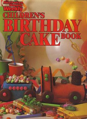Australian Women's Weekly Children's Birthday Cake Book - Cover of the 1980 edition