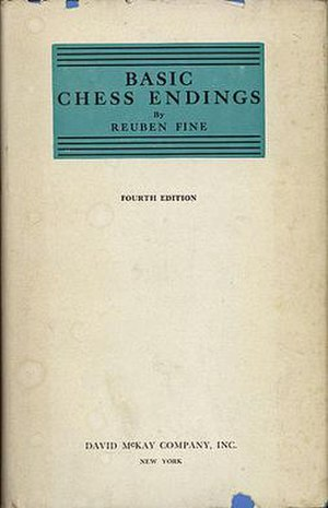 Basic Chess Endings - Dust jacket of the 1958 printing