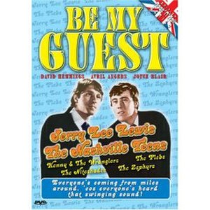 Be My Guest (film) - DVD cover design