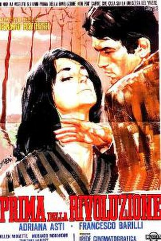 Before the Revolution - Film poster