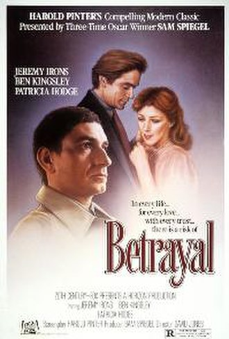 Betrayal (1983 film) - Theatrical release poster