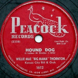 Hound Dog (song) - Image: Big mama thornton hound dog